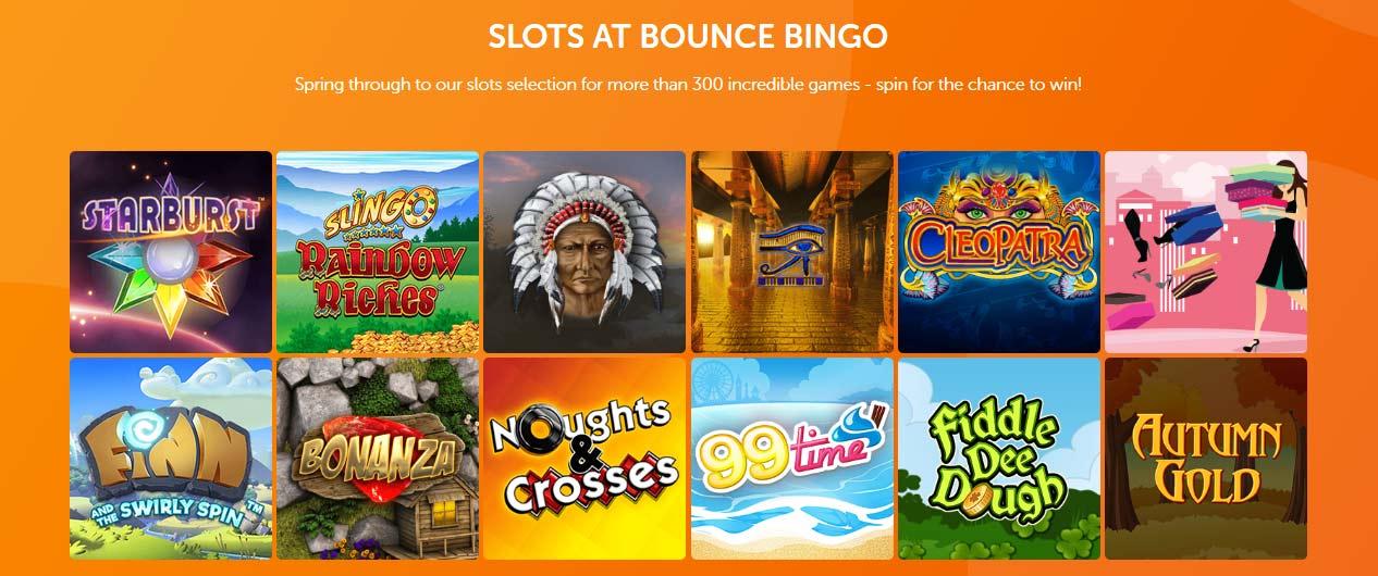 Bounce Bingo Slots No Wagering