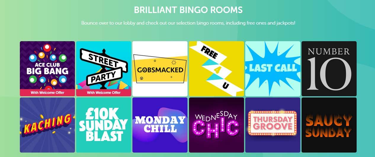 Bounce Bingo - Bingo Rooms No Wagering