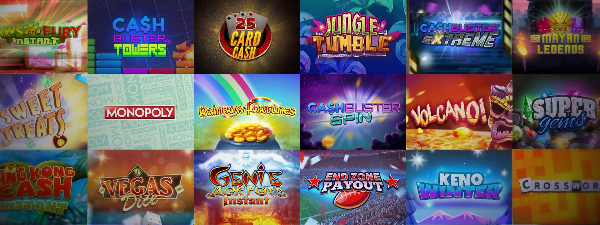 IWG Games Software Screen Shot