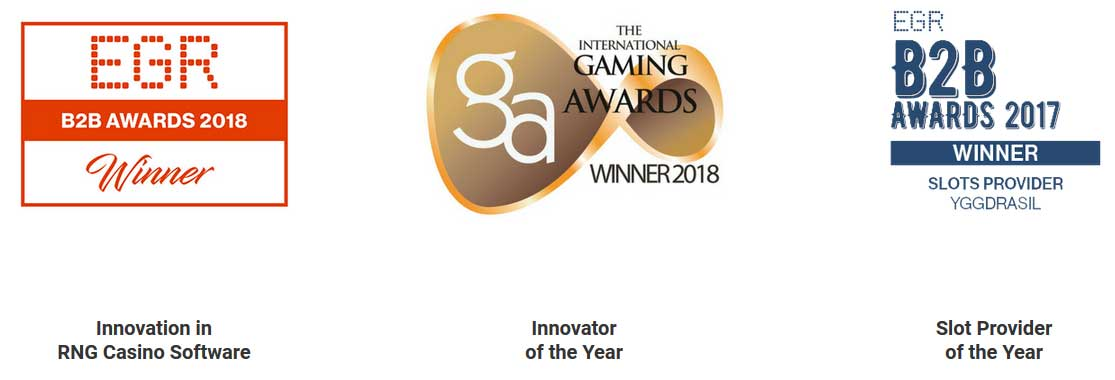 awards won by Yggdrasil