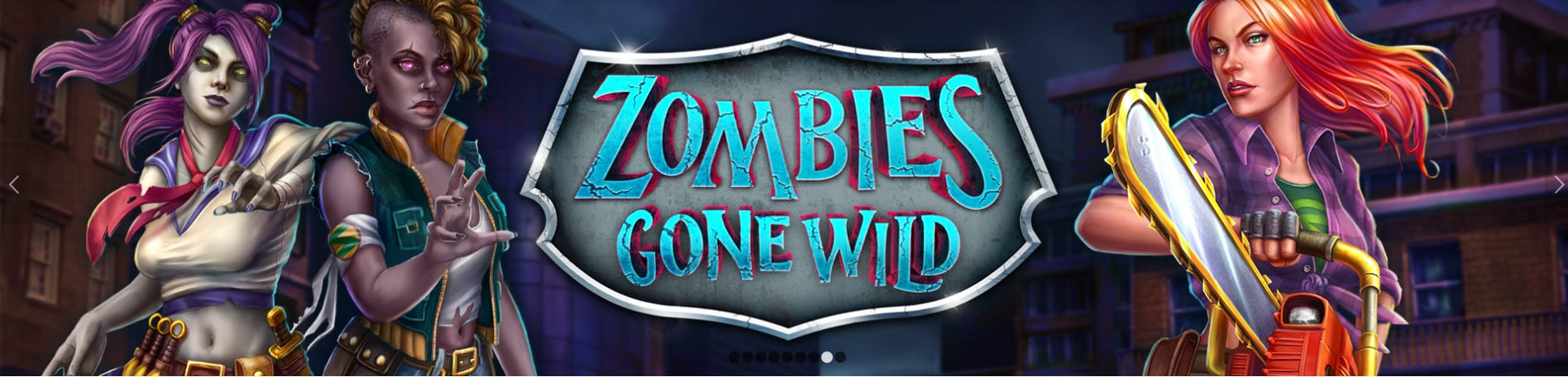 Zombies Gone Wild Screen