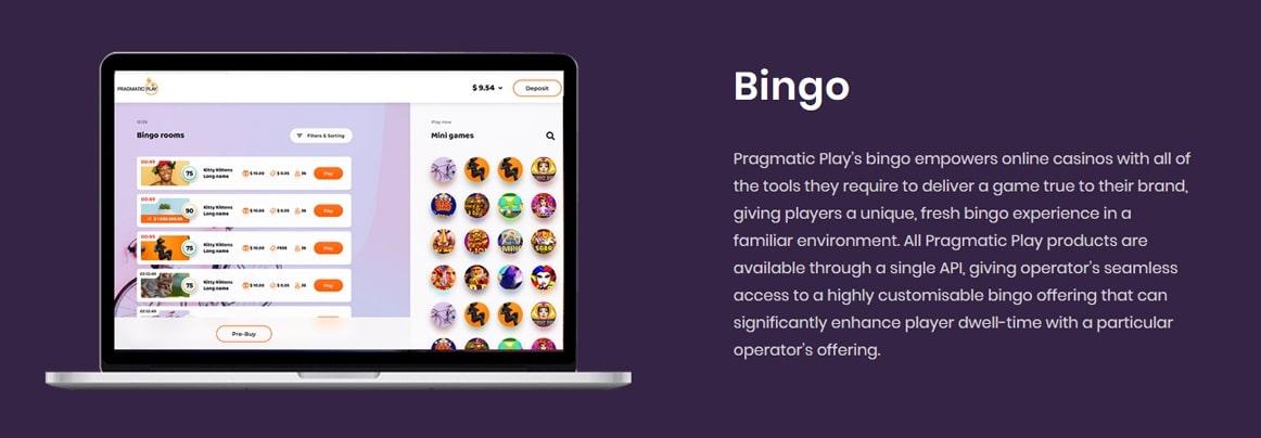 Pragmatic Play Bingo Software Screen Shot
