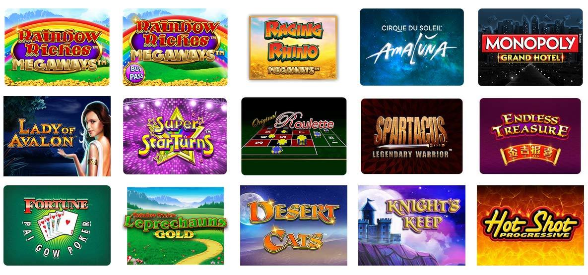 SG Interactive Software Games Screen Shot