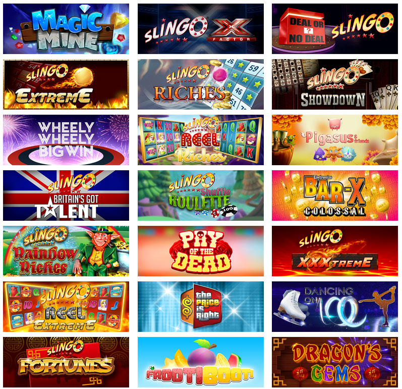 Slingo Orginals Games 1