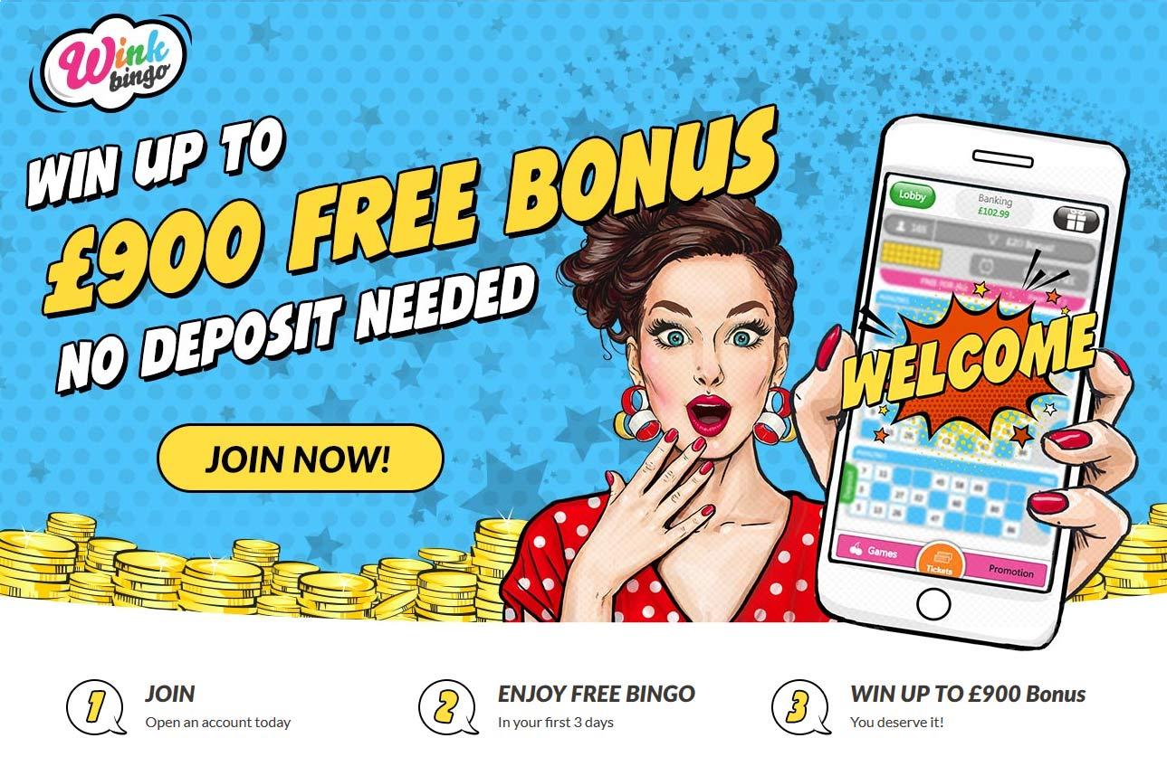 Wink Bingo free bingo