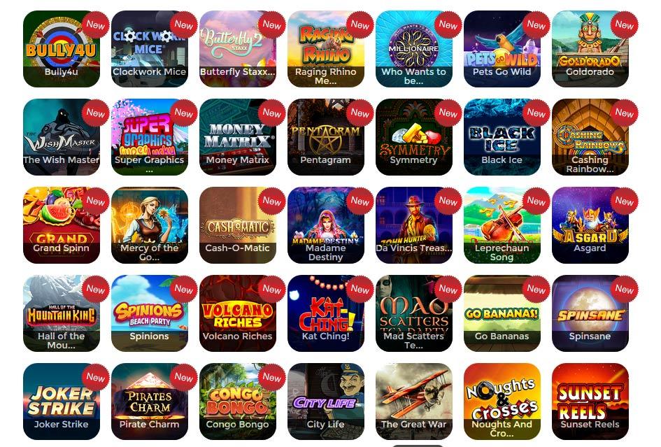 New Dragonfish slots by 888Ladies Bingo