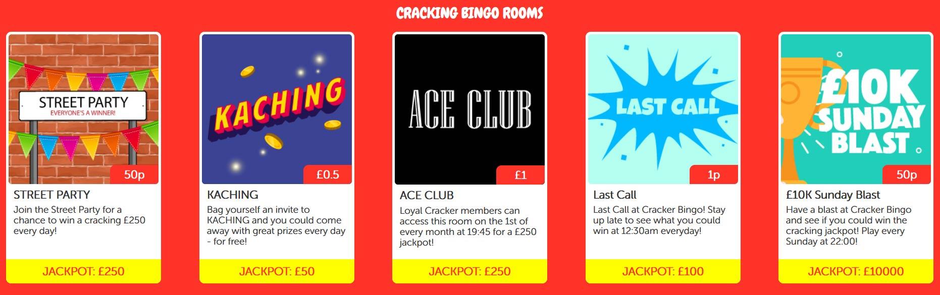 Cracker Bingo Games