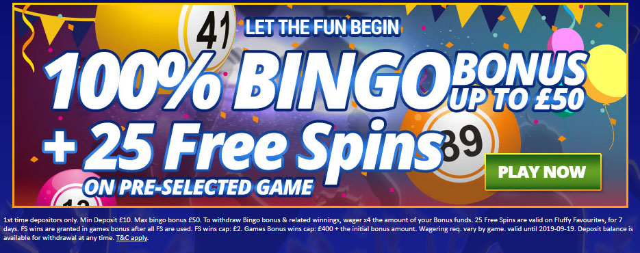 Bingozino Welcome offer code
