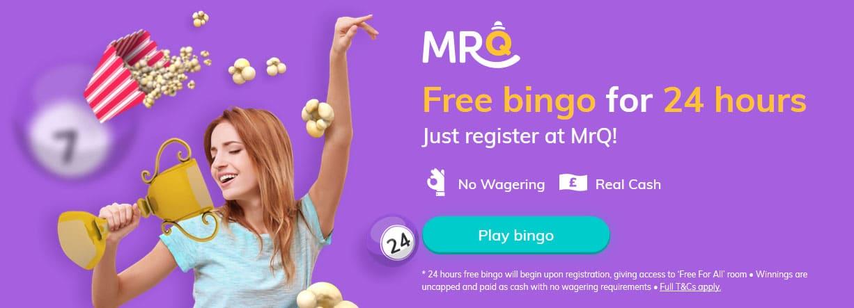 Free Bingo, No Deposit, No Wagering