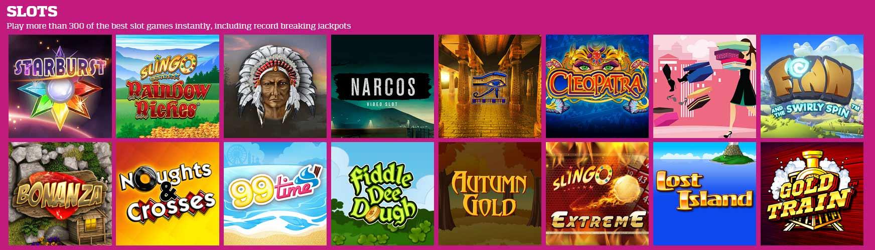 Hunky Bingo Slots and Games