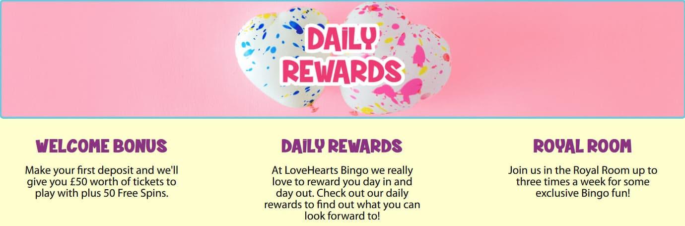 Love Hearts Bingo Promo Code