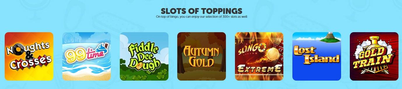 Sundae Bingo Slots To Play