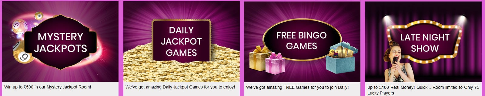 So Bingo Promotion Games